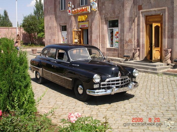 коллекционное авто ЗИМ-12 1954год