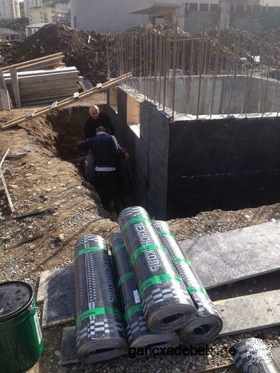 ремонт крыши и гидроизоляция